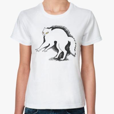 Классическая футболка Кот ушёл