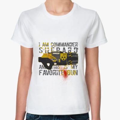 Классическая футболка Любимая пушка