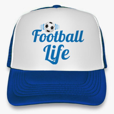 Кепка-тракер Футбол жизнь