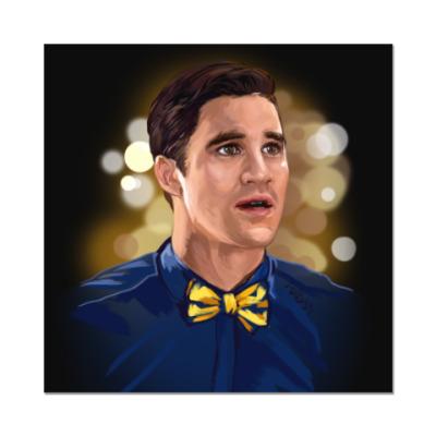 Наклейка (стикер) Блейн Андерсон. Glee