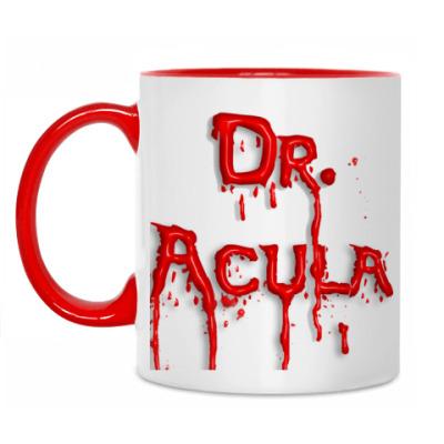 Кружка Доктор Акула (blood)