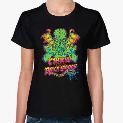 Женская футболка Монстр Ктулху
