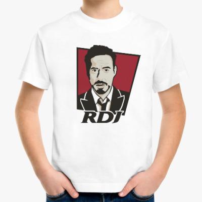 Детская футболка Роберт Дауни