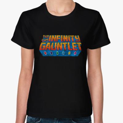 Женская футболка Мстители: Война бесконечности