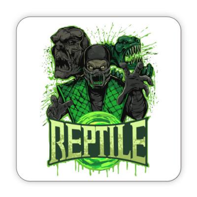 Костер (подставка под кружку) Reptile