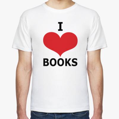 Футболка I Love Books