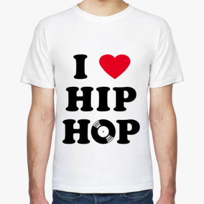 Футболка I Love Hip-Hop