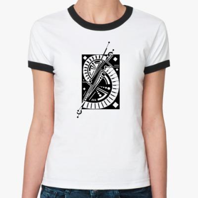 Женская футболка Ringer-T Концепт