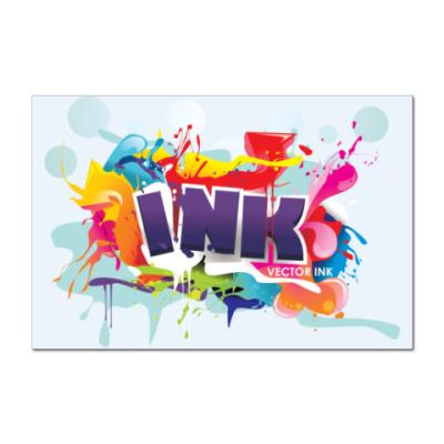 Наклейка (стикер)  Ink