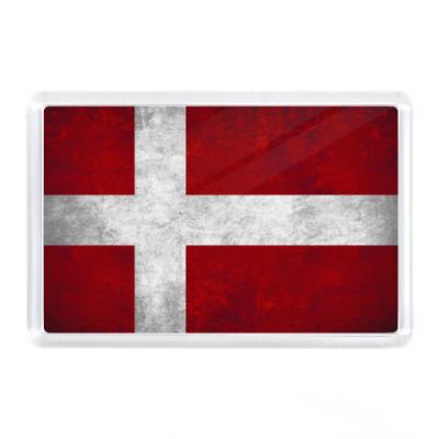 Магнит  'Датский флаг'
