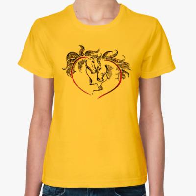 Женская футболка Лошадиный год