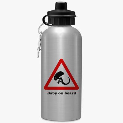 Спортивная бутылка/фляжка Ребенок на борту