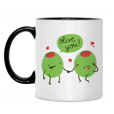 Кружка Olive You