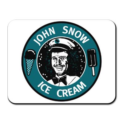 Коврик для мыши Джон Сноу - Мороженое