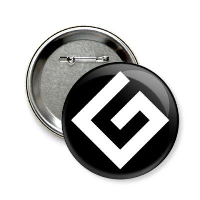 Значок 58мм Граммарнацистский значок