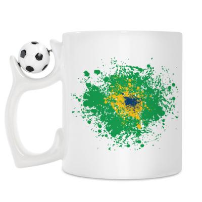 Кружка Бразилия 2014