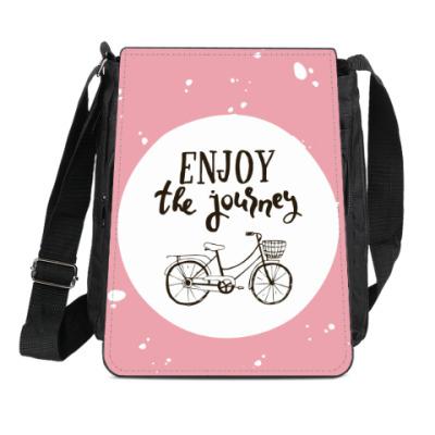 Сумка-планшет Велопрогулка