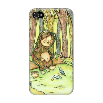 Чехол для iPhone 4/4s Лесной тролль