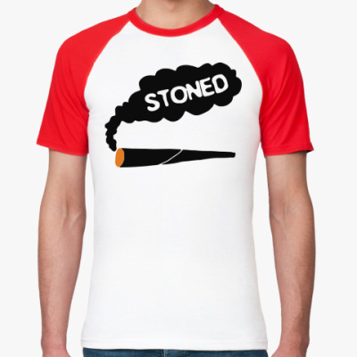 Футболка реглан stoned