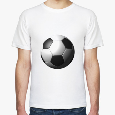Футболка  3D мяч