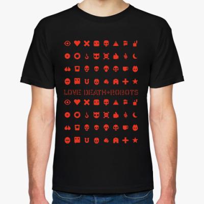 Футболка Love death+robots