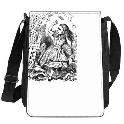 Сумка-планшет Алиса в стране чудес