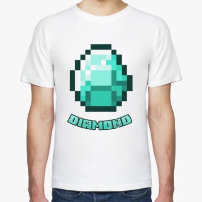 Футболка Minecraft Алмаз/Diamond