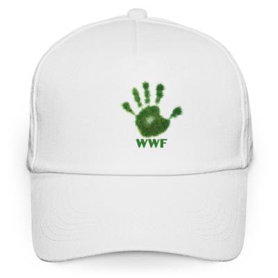 Кепка бейсболка WWF. Дай пять!