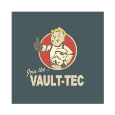 Наклейка (стикер) Fallout  star wars