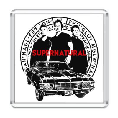 Магнит Supernatural -Сэм, Дин и Кас
