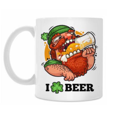Кружка Я люблю Пиво (I love Beer)