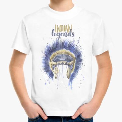 Детская футболка Индейские легенды