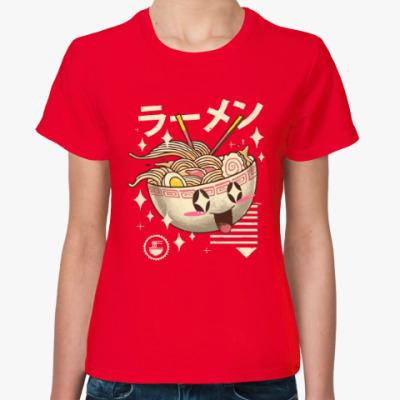 Женская футболка Китайская лапша