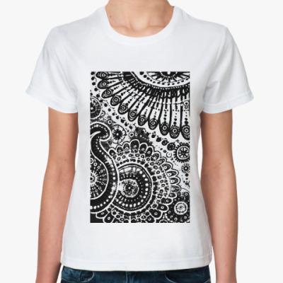 Классическая футболка Земля и небо