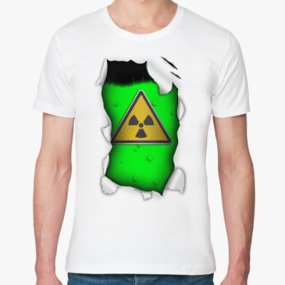 Футболка из органик-хлопка Радиация