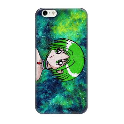 Чехол для iPhone 6/6s Космическая Аниме тян