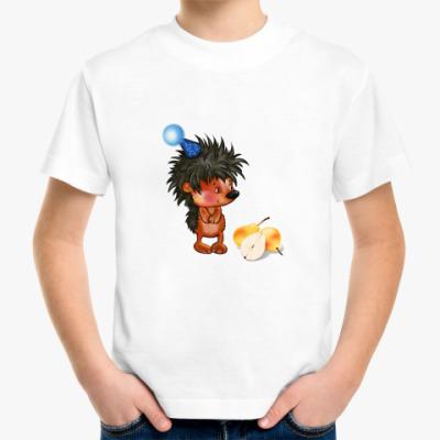 Детская футболка 'Ежик'
