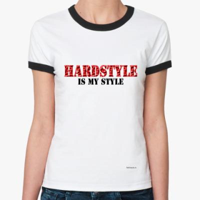 Женская футболка Ringer-T Hard Style