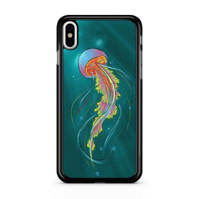 Чехол для iPhone Радужная медуза
