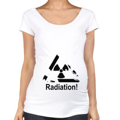 Футболка для беременных Radiation - Радиация
