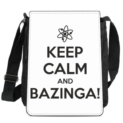 Сумка-планшет  BAZINGA!