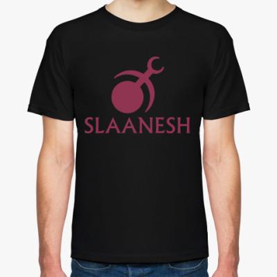Футболка   Slaanesh