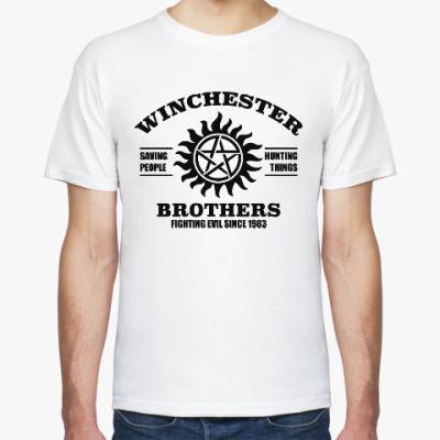 Футболка Братья Винчестеры