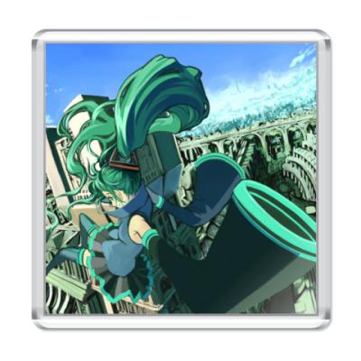 Магнит Miku Hatsune #06