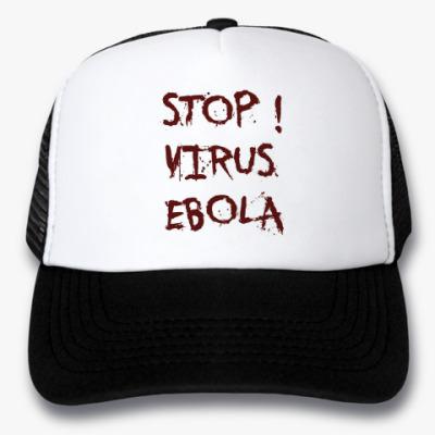 Кепка-тракер Stop Virus Ebola