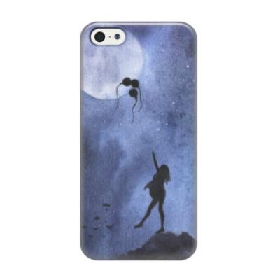 Чехол для iPhone 5/5s Дотянуться до луны