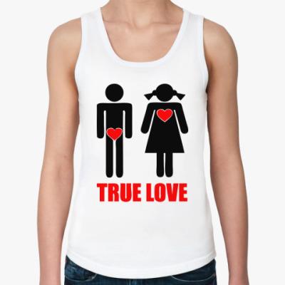 Женская майка True Love