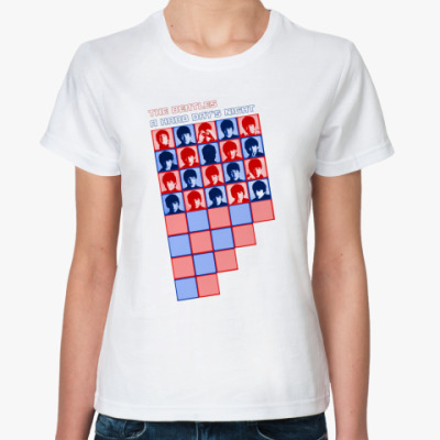 Классическая футболка A Hard Day's Night