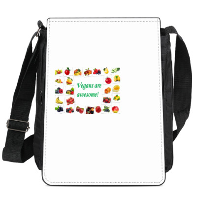 Сумка-планшет For vegan.
