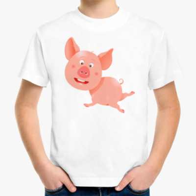 Детская футболка Свинка